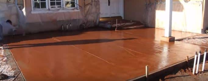 Concrete Services - Stamped Concrete Liberty Mobile Home Court